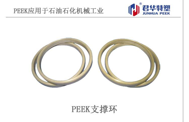 PEEK支撑环应用于石油石化机械工业