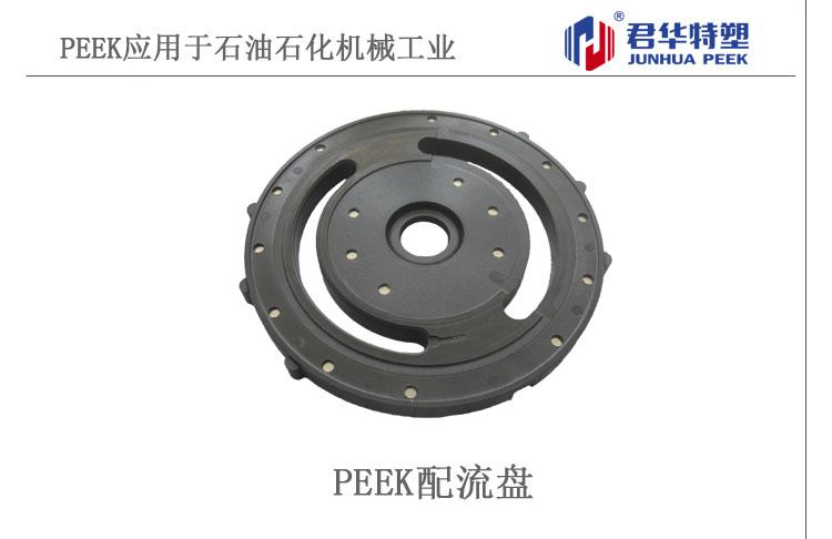 PEEK配流盘应用于石油石化机械